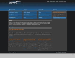 dd-wrt.de screenshot