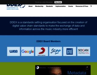 ddex.net screenshot