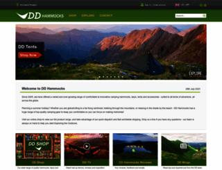 ddhammocks.com screenshot