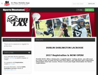 ddl.sportssignupapp.com screenshot