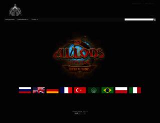 de.allodswiki.ru screenshot