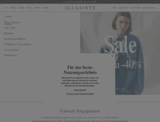 de.allsaints.com screenshot