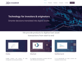 de.crosslend.com screenshot