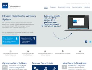 de.cyberarms.net screenshot