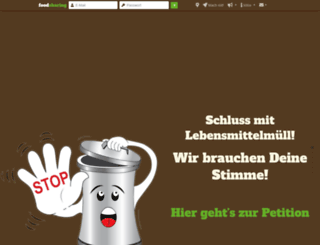 de.foodsharing.de screenshot