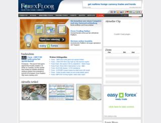 de.forexfloor.com screenshot