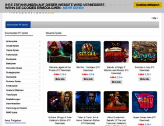 de.gameshop-international.com screenshot
