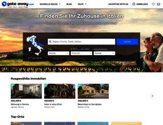 de.gate-away.com screenshot