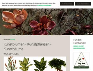 de.kunstflora.com screenshot