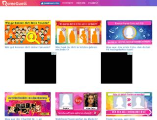 de.nameguess.com screenshot