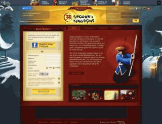 de.shogunkingdoms.com screenshot