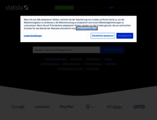 de.statista.com screenshot