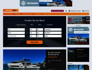de.topboats.com screenshot