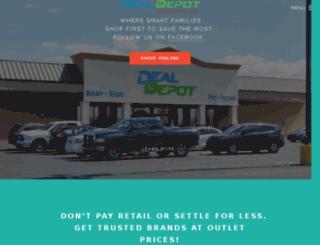 dealdepotstore.com screenshot