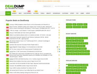 dealdump.com screenshot