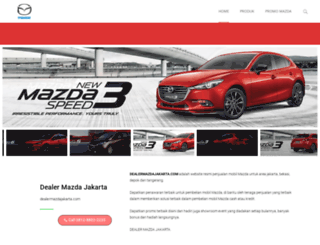 dealermazdajakarta.com screenshot