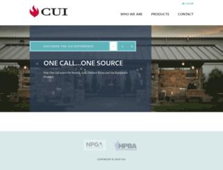 dealers.cuiheat.com screenshot