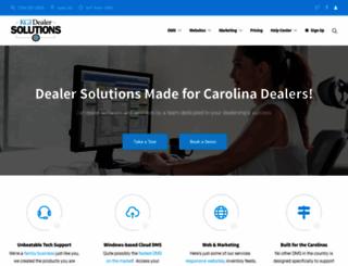 dealersolutionssoftware.com screenshot