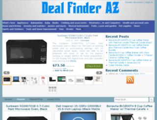 dealfinderaz.com screenshot