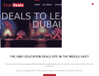 deals.eton.ac screenshot