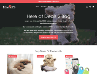 deals2bag.com screenshot
