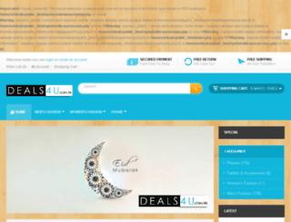 deals4u.com.pk screenshot