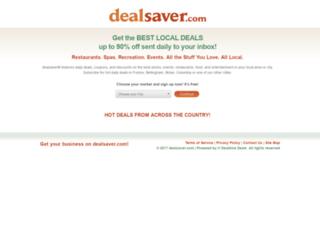 dealsaver.com screenshot