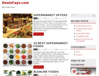 dealsfays.com screenshot