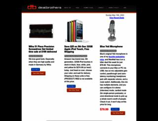 dealsontheweb.com screenshot