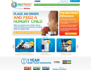 dealsonvitamins.biotrust.com screenshot