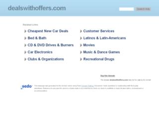 dealswithoffers.com screenshot