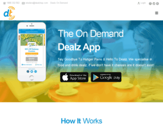 dealtapapp.com screenshot