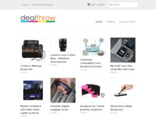 dealthrow.com screenshot