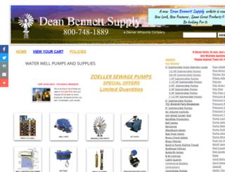 deanbennett.com screenshot