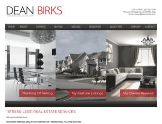 deanbirks.com screenshot