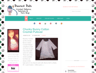 dearestdebi.com screenshot