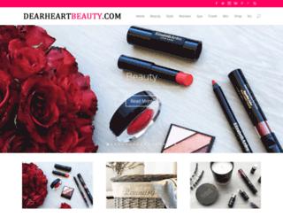 dearheartbeauty.com screenshot