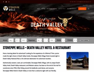 deathvalleyhotels.com screenshot