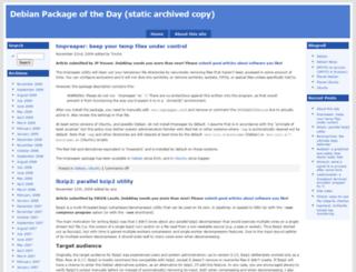 debaday.debian.net screenshot