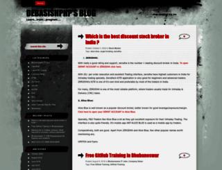 debasishphp.wordpress.com screenshot