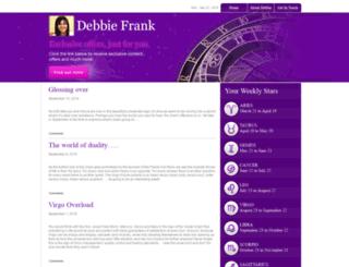 debbiefrank.co.uk screenshot
