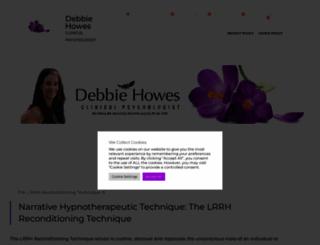 debbiehowes.com screenshot