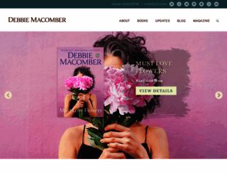 debbiemacomber.com screenshot