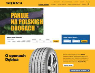 debica.com.pl screenshot