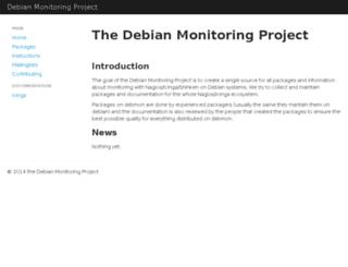 debmon.org screenshot
