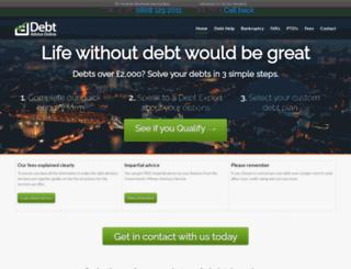 debt-advice-online.com screenshot