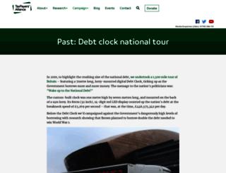 debt-clock.org screenshot