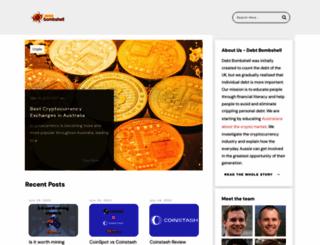 debtbombshell.com screenshot