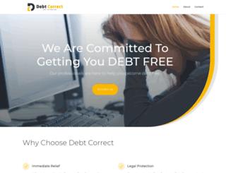 debtcorrect.co.za screenshot