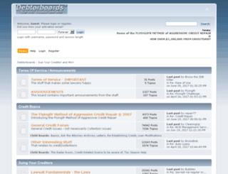 debtorboards.com screenshot